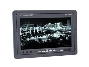 """DIESEL AUDIO NS-701HR 7"""" TFT Color Headrest Monitor with Built-In IR Transmitter (Black) - New"""