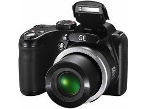 GE X450 Power PRO Digital Camera with 16 Megapixels, 25x Optical Zoom, 42mm Wide-Angle Lens (Black)