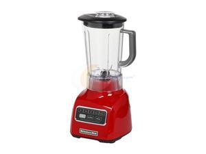 KitchenAid KSB650ER 5-Speed blender 9HP motor Stir, Chop, Mix, Puree, and Liquefy BPA-Free Shatter-Resistant Jar Espresso (Empire Red)