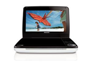 PHILIPS PD9000/37 9-Inch LCD Portable DVD Player with 5 Hour Battery (White)