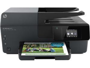 HP Officejet 6815 e All in One Printer (Print-Copy- Scan-Fax-Wireless) - Black