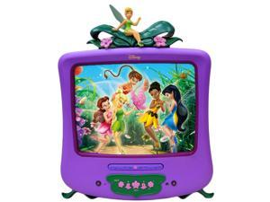 "Disney Fairies F1310ATVD 13"" TV/ DVD Combo - ATSC(Purple)- New"
