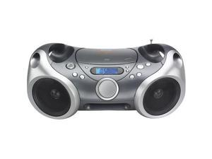 MEMOREX MP3142 Boombox (Grey) - New