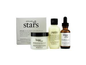All Stars Kit: Purity Made Simple Cleanser 60ml/2oz + When Hope Is Not Enough Serum 30ml/1oz + Hope In A Jar 60ml/2oz -