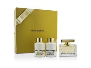 The One Coffret: Eau De Parfum Spray 75ml/2.5oz + Body Lotion 100ml/3.3oz + Shower Gel 100ml/3.3oz - 3pcs