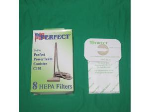 200 Genuine Perfect Style C HEPA Cloth Vacuums Cleaner Bags C101 Replaces Electrolux Aerus
