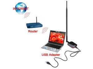 Blueway N9200 Wireless USB Adapter - 150Mbps - With 10dBi High Gain Antenna