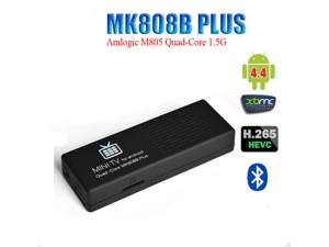 MK808B Plus Amlogic M805 Quad-Core 1G/8G Android 4.4 HDMI TV Dongle TV Stick PC Bluetooth 4.0 Support XBMC/Miracast / DLNA Mini TV for Android