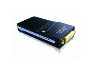 Plugable USB 2.0 to VGA / DVI / HDMI Video Graphics Adapter for Multiple Monitors up to 1920x1080 Video Card Converter