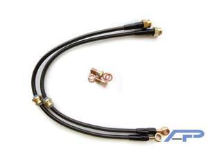 Agency Power for EVO VIII IX 8 9 Front Steel Brake Lines