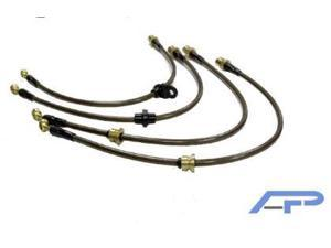 Agency Power Rear Brake Lines for 1G Eclipse Turbo AWD