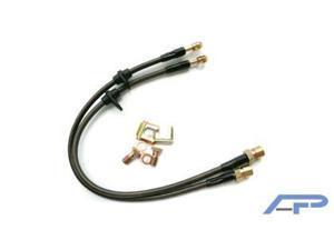 Agency Power for Subaru WRX Front Steel Braided Brake Lines