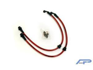 Agency Power Front Brake Lines for 95-98 Nissan 240SX S14
