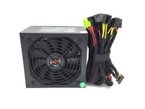 Black 1050W ATX Power Supply 14CM Fan PCIe 6/8 Pin,20/24 Pin,4/8 Pin EPS12V SATA