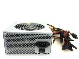 600W 24 pin ATX Power Supply Serial ATA, 4 Pin Molex, PCI-e 6 pin 12cm quiet Fan