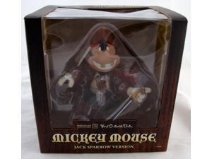 Jack Sparrow Mickey Mouse VCD Vinyl Collectible Medicom Toys MIP