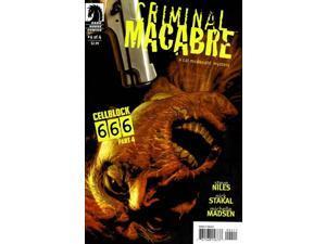 Criminal Macabre Cell Block 666 #4 (2008-2009) Dark Horse Comics VF/NM