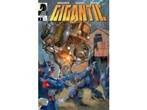 Gigantic #2 (2008-2010) Dark Horse Comics VF/NM