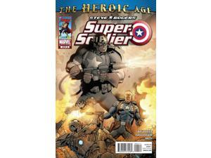 Steve Rogers Super Soldier #4 (2010) Marvel Comics NM