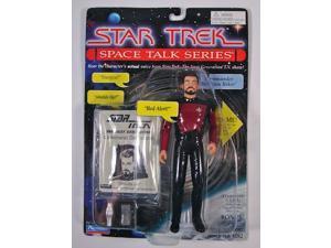Star Trek Space Talk Series William T Riker Action Figure Playmates MIP