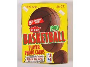 1990-91 Fleer Basketball Card Wax Box New