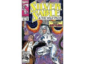 Silver Sable & The Wild Pack #2 (1992-1995) Marvel Comics VF+