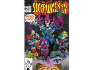 Sleepwalker #25 Volume 1 Foil Cover (1991-1994) Marvel Comics VF