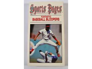 Sports Pages Volume 17 Funtastic Baseball Bloopers VHS Tape 1993