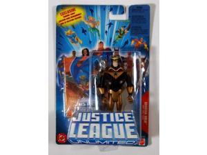 Justice League Unlimited Booster Gold Action Figure 2005 Mattel MIP