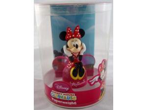 Mickey Mouse Clubhouse Minnie Mouse Bust Paperweight Monogram MIP