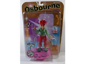 The Osbourne Family Kelly Osbourne Action Figure 2002 Mezco MIP