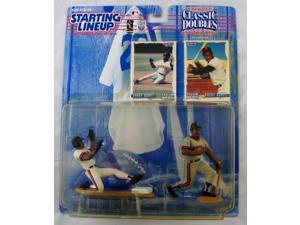 MLB Starting Lineup Classic Doubles Barry and Bobby Bonds Action Figure 2-Pack 1