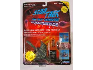 Star Trek The Next Generation Innerspace Series Romulan Warbird Mini Playset 199
