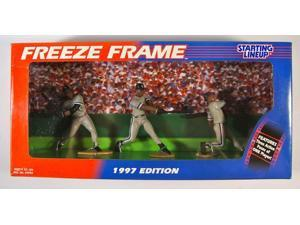 MLB Starting Lineup SLU Frank Thomas Freeze Frame Action Figure 3-Pack Chicago W