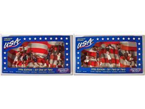 NBA Starting Lineup SLU Team USA 1996 Edition Set One & Two Action Figure 5-Pack