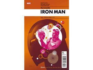 Invincible Iron Man #20B Larroca Cover (2008-2012) Marvel Comics VF+