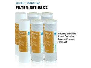 APEC ESSENCE Series 2 Sets of Stage 1, 2 & 3 Replacement Filter For Undersink System(FILTER-SET-ESX2)