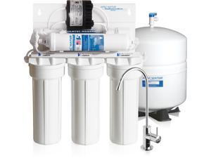 APEC Water RO-PERM Premium Quality & High-Efficiency Reverse Osmosis Water Filter System with Permeate Pump for Low Water Pressure Homes