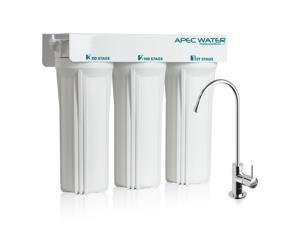 APEC - Super Capacity Premium Quality 3 Stage Under Counter Water Filtration System (WFS-1000)
