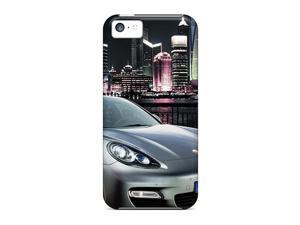 New Style Super Mall Hard Case Cover For Iphone 5c- Porsche Panamera Shanghai 2010