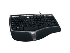 Microsoft B2M-00012 Natural Ergonomic Keyboard 4000 Spit-Board - USB