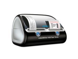 Dymo 1752266 LabelWriter 450 Twin Turbo Direct Thermal Printer - Monochrome - 300 dpi - USB