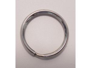 """Split Ring Clip 1-1/4"""" Silver"""
