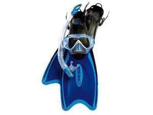 Cressi Unisex-Adult Palau Bag Set Lg/XL Blue