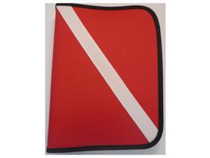 Innovative Dive Flag 3-Ring Dive Log Red/White