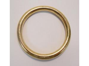 """Connector Ring 2"""" Brass"""