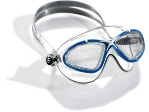 Cressi Unisex-Adult Saturn Crystal Goggles Blue/White