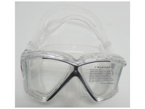 Cressi Unisex-Adult Pano 4 Windows Mask Clear