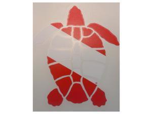Innovative Die Cut Turtle Decal