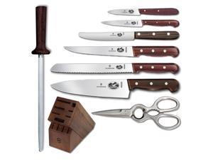 Victorinox Rosewood Knife Block Set, 12 piece